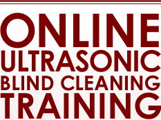 Online Ultrasonic Blind Cleaning Training